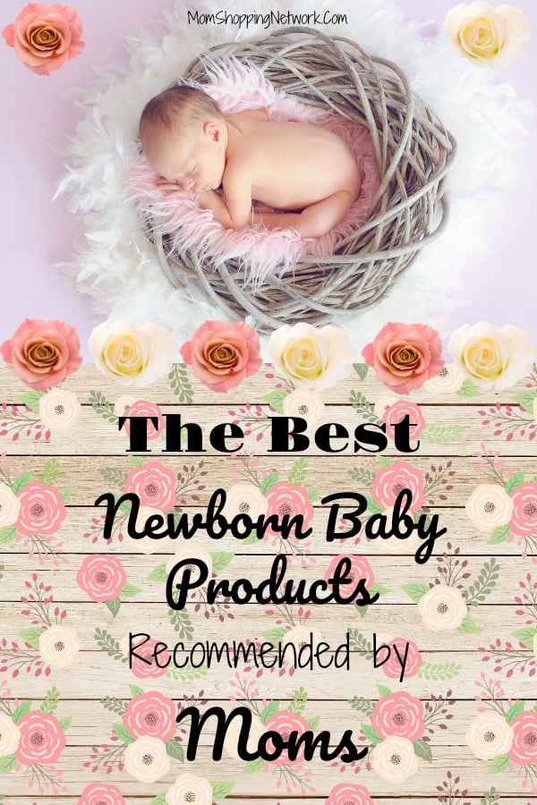 These are some of the best newborn baby products recommended by moms I've ever seen! Definitely newborn baby essentials that expecting moms should have. #baby #babyproducts #babyessentials #babyitems #newborn #newbornbaby #motherhood #newmoms #expecting #expectingababy