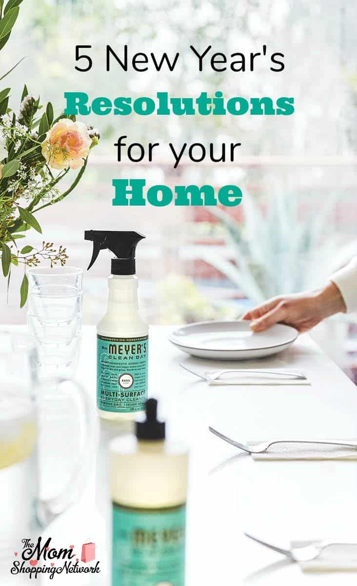 Here are 5 New Year's Resolutions I'm making for my home this year with the help of Grove Collaborative! #newyear #newyearsresolutions #cleaning #cleaningtips #cleaninghacks