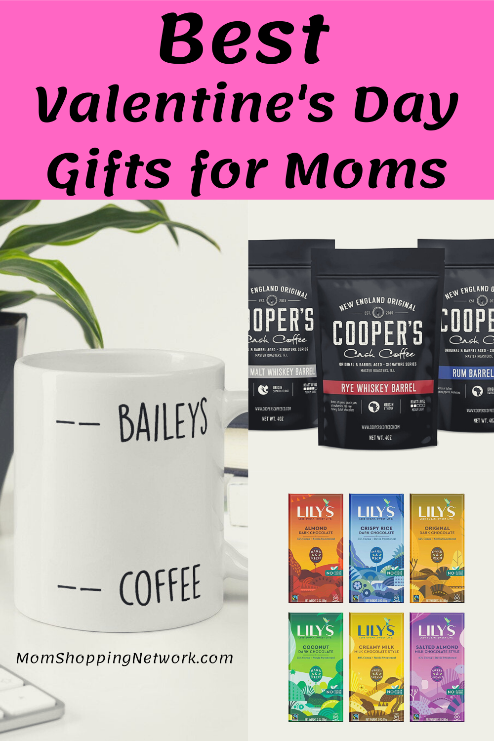 Best Valentines Day Gifts for Every Mom. #valentinesdaygifts #giftguideformoms #giftguide #valentinesdaygiftguide #momshoppingnetwork
