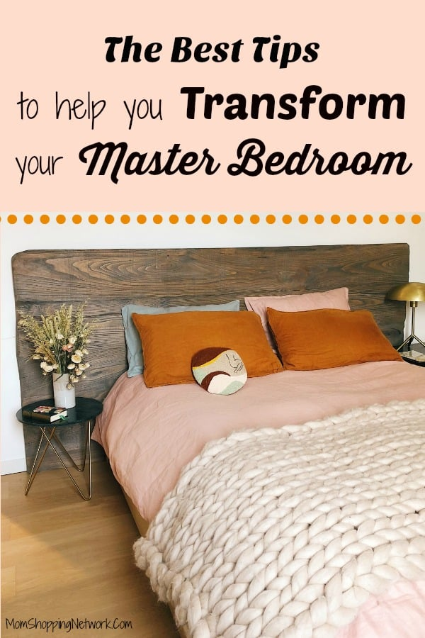 These amazing decorating tips will help you transform your master bedroom, love these master bedroom decorating ideas! #masterbedroom #masterbedroomideas #masterbedroomdecor #masterbedroomdecortips #masterbedroomdecorguide #transform #transformation #decorate #decorating #decoratingideas #decoratingtips #decoratinghacks #bedroom #bedroomdecor #bedroomdecorideas #bedroomideas #bedroomdecoratingideas #bedroomdecoratingtips #bedroomdecoratinghacks