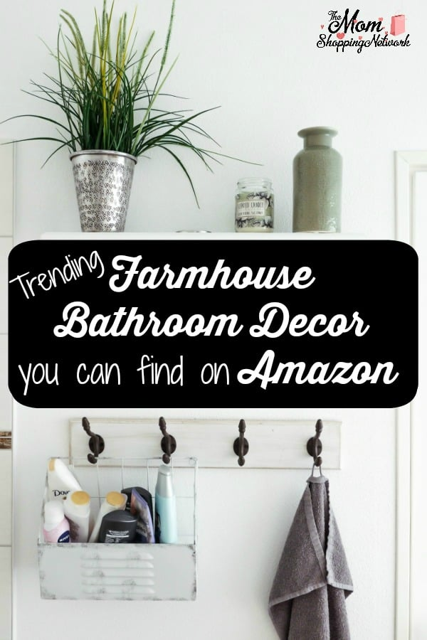 This is some of the Best Farmhouse Bathroom Decor on Amazon! This will help you design the perfect farmhouse style bathroom for sure! #farmhouse #farmhousedecor #farmhousebathroom #farmhouseinspired #farmhousestyle