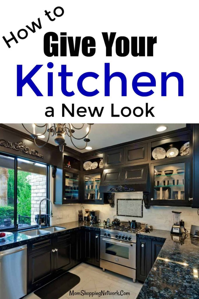 Kitchen with a new look