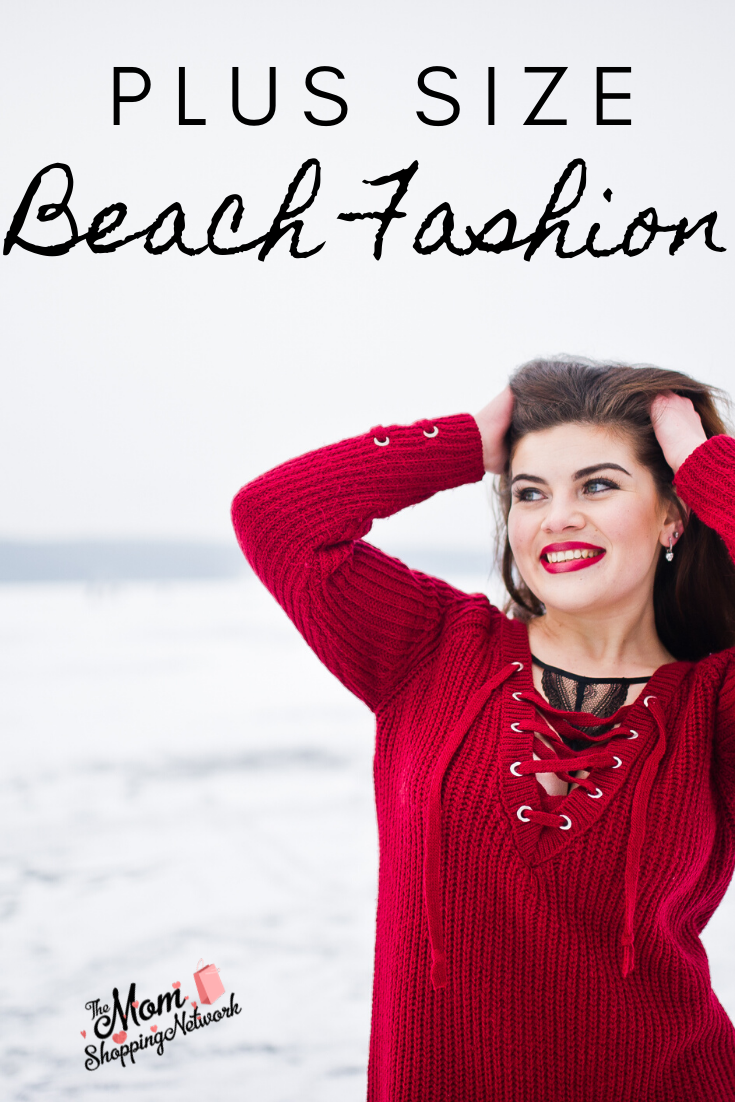Plus Size Beach Fashion. #plussize #plussizefashion #plussizebeachclothing
