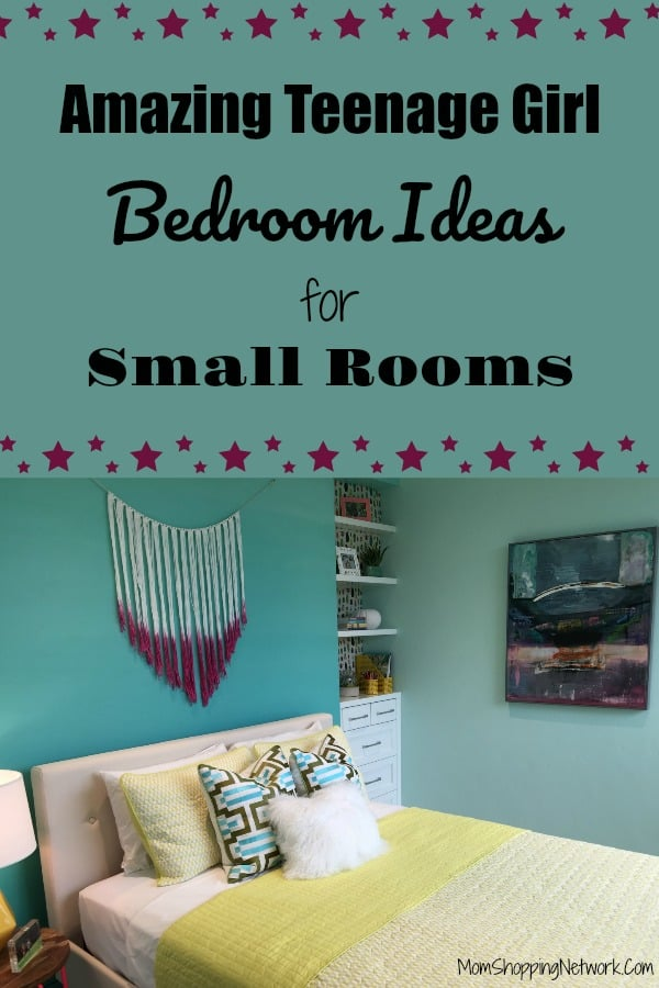 These Amazing Teenage Girl Bedroom Ideas For Small Rooms will help you find the right decor, furniture and ideas for any teenage girl's room. #teenagegirlbedroomideas #teenagegirlbedroomideassmall #teenagegirlsmallbedroomideas