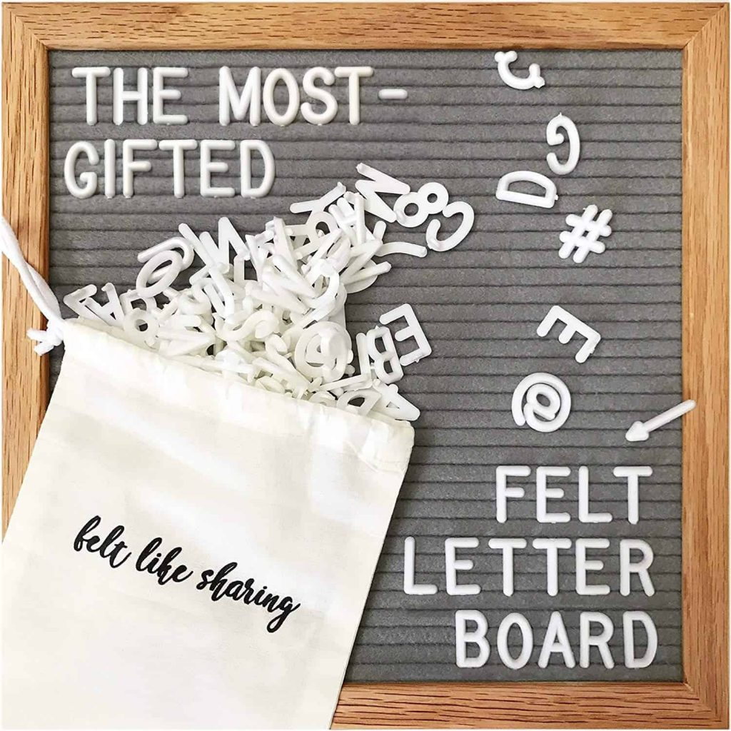 Letter Board for a Teen Girls Bedroom #teengirbedroomdecorideas