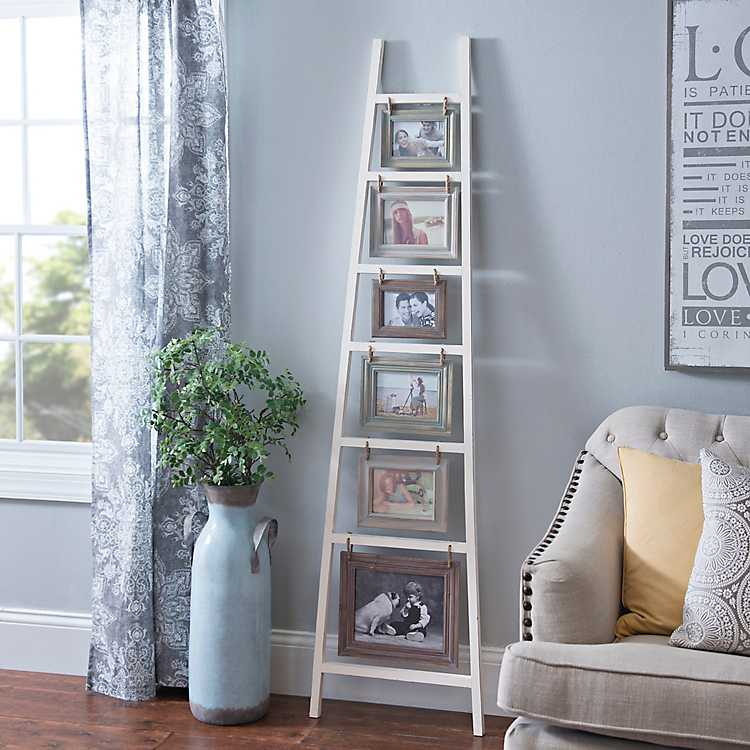 farmhouse ladder picture frame
