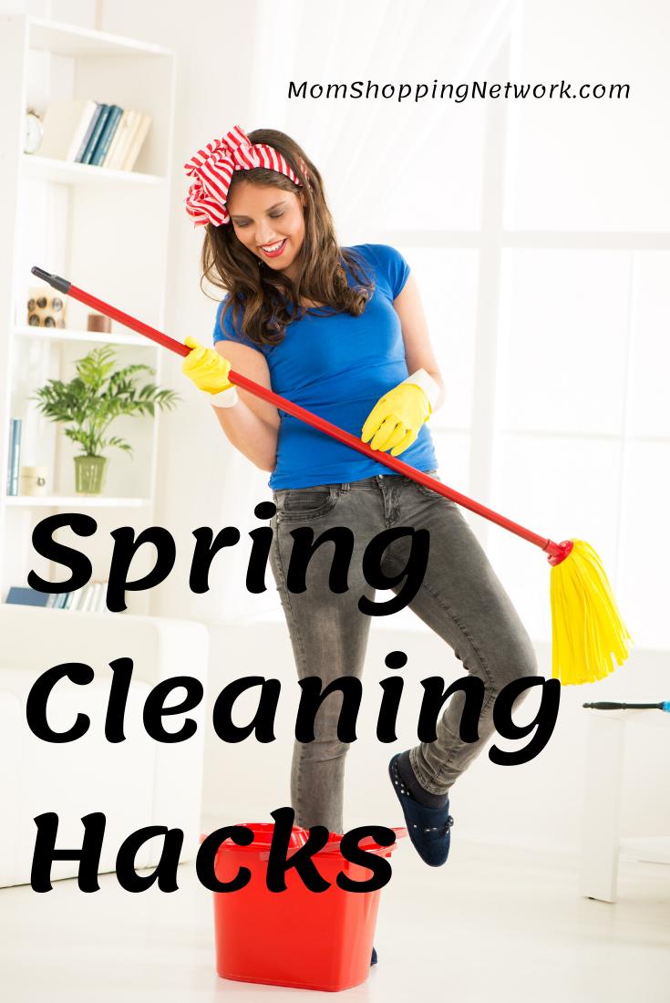 Spring Cleaning Hacks #cleaninghacks #springcleaning #householdtips #householdhacks #momshoppingnetwork