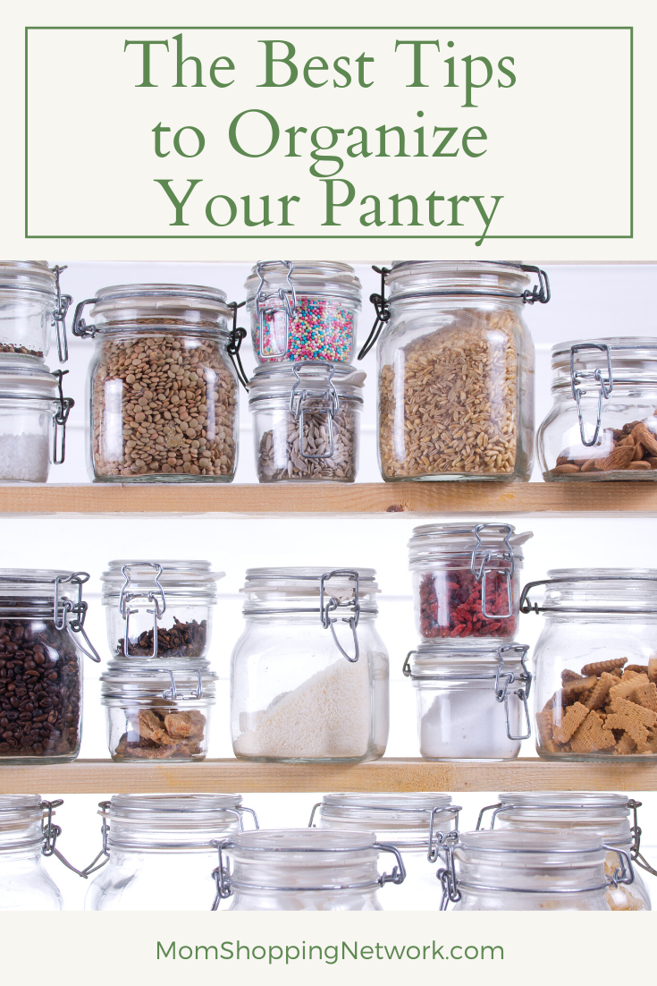 The Best Tips to Organize Your Pantry #kitchenorganizing #kitchenpantrytips #howtoorganizeyourkitchenpantry