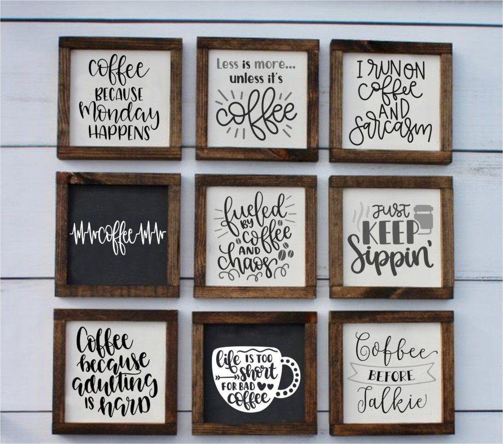 Coffee Signs #coffeesigns #coffeegifts