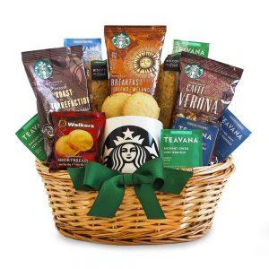 Coffee Gift Baskets #coffeegiftbasket #coffeelovergifts
