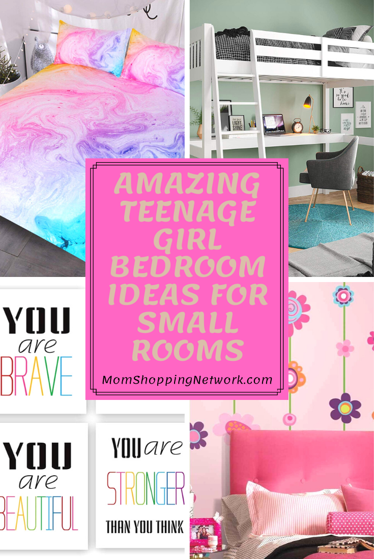 Amazing Teenage Girl Bedroom Ideas For Small Rooms  #teengirlbedroomdecorideas