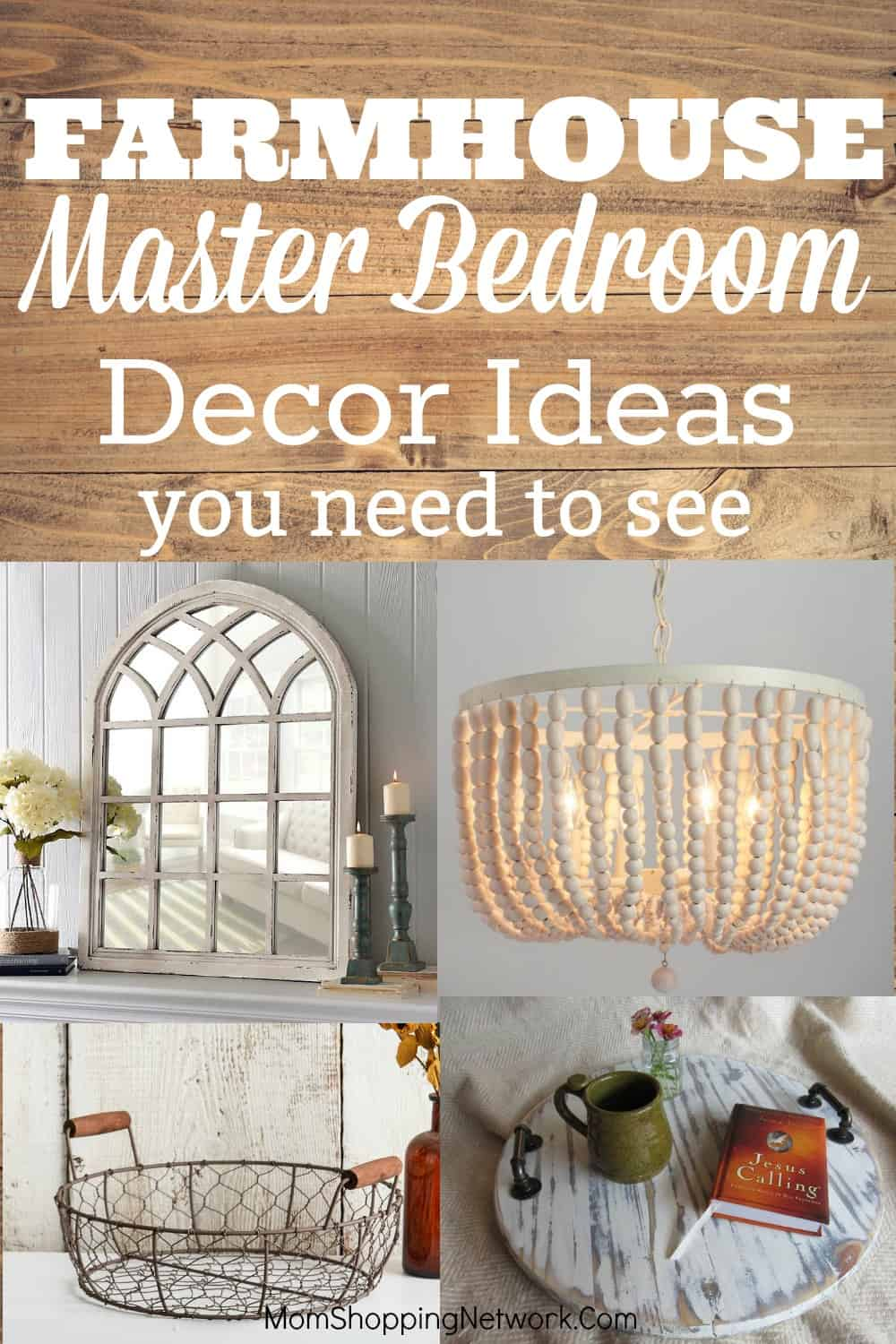 How To Create An Amazing Farmhouse Master Bedroom Mom Shopping Network