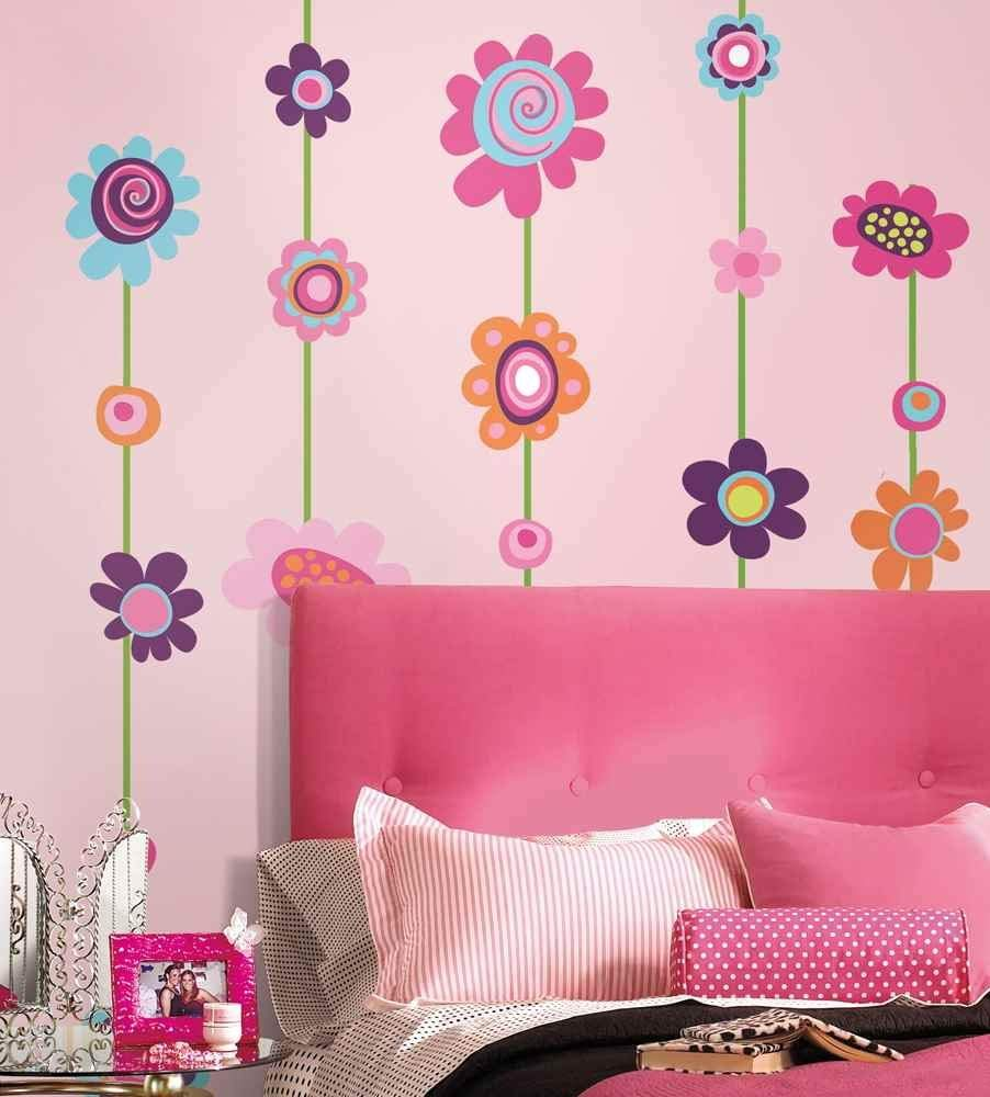 Wall Decals #teengirlbedroomdecorideas #walldecals