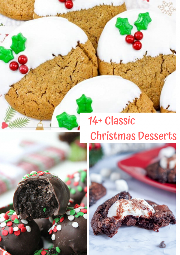 14 Classic Christmas Desserts