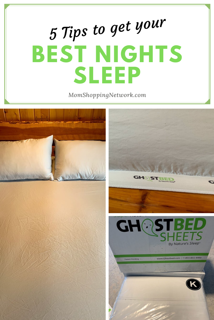 5 Tips to Get Your Best Nights Sleep #bestnightssleep #tipstohelpyousleep #bedtimetips