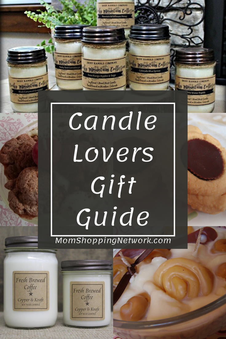 Candle Lovers Gift Guide on Etsy #etsy #handmadegifts #handmadecandles #giftguides #candlelover #candlegifts