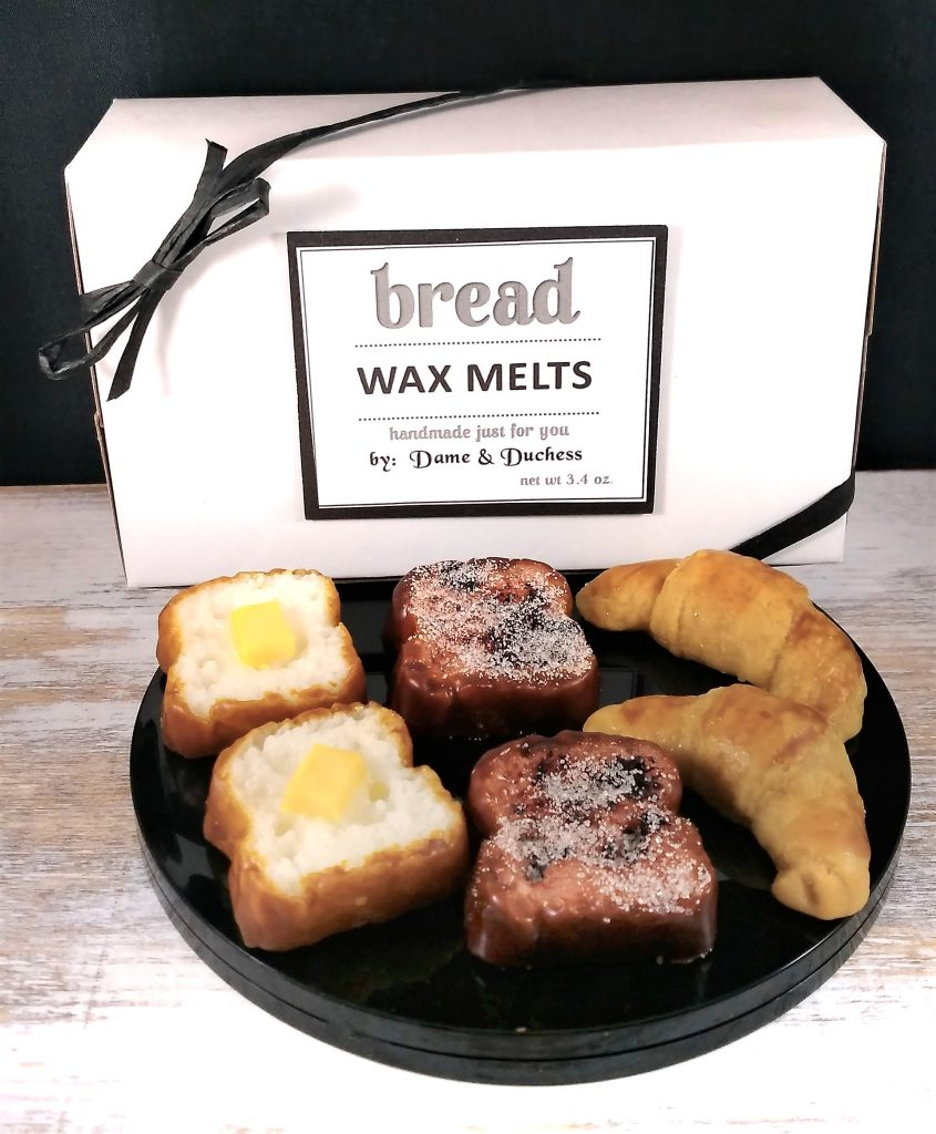 Variety Box Bread Wax Tarts #etsy #waxmelts #scentedmelts #handmadegifts