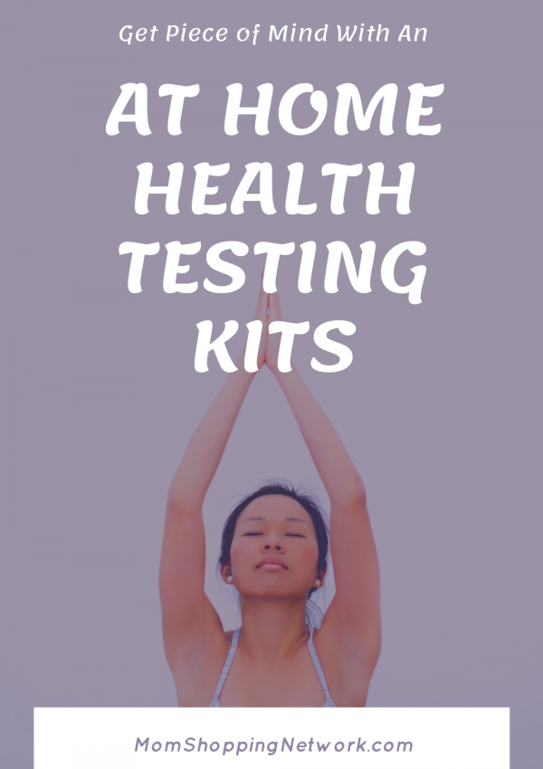 Piece of Mind with an At Home Health Testing Kits #athomehealthtesting #healthtesting