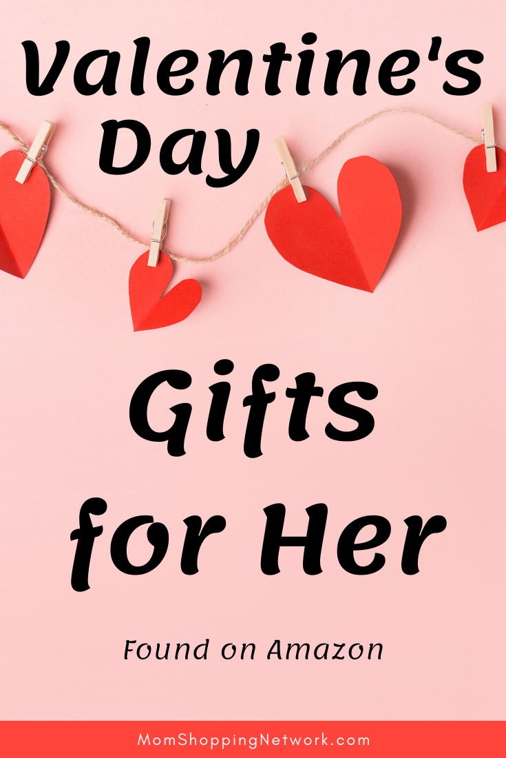 Valentine's Day Gifts for Her found on Amazon #giftguide #valentinesdaygiftsforher #giftsforher #valentinesday #giftsforvalentinesday #momshoppingnetwork