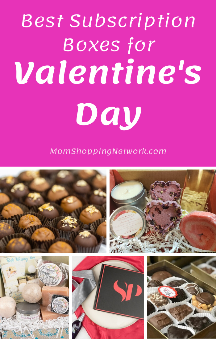 Best Subscription Boxes for Valentines Day #valentinesday #giftguide #subscriptionboxes #valentinesdaygifts #giftsforadults #monthlysubscriptionboxes